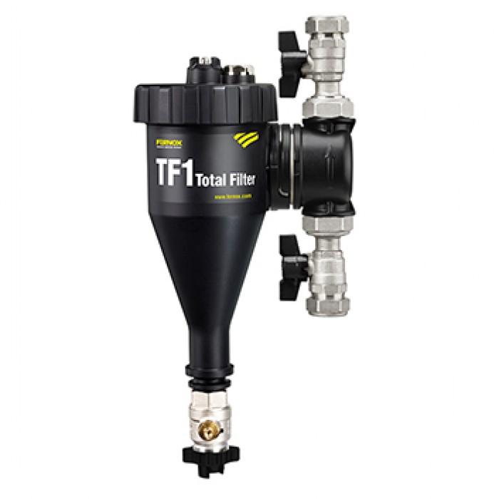 Filtr na vodu pro vytápění Total filtr TF1 22mm FERNOX