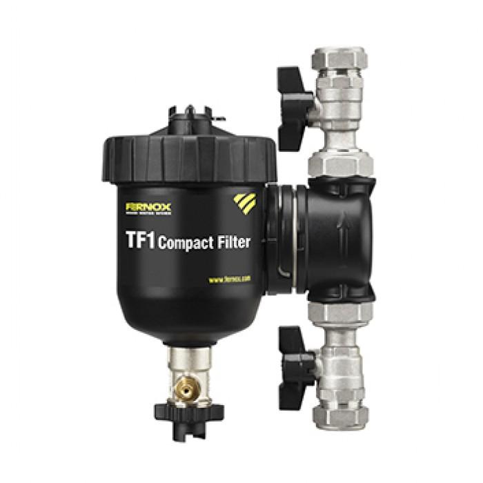 Filtr na vodu pro vytápění TF1 Compact 22mm FERNOX