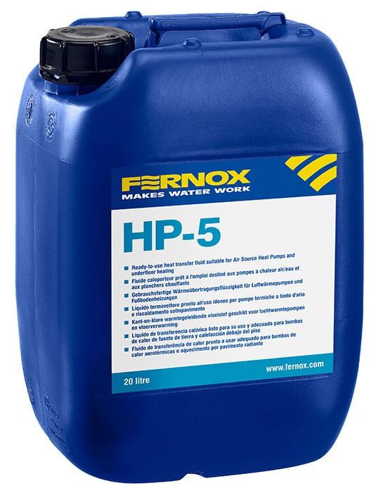 Teplonosná kapalina pro tepelná čerpadla a podlahové topení HP-5 20L FERNOX
