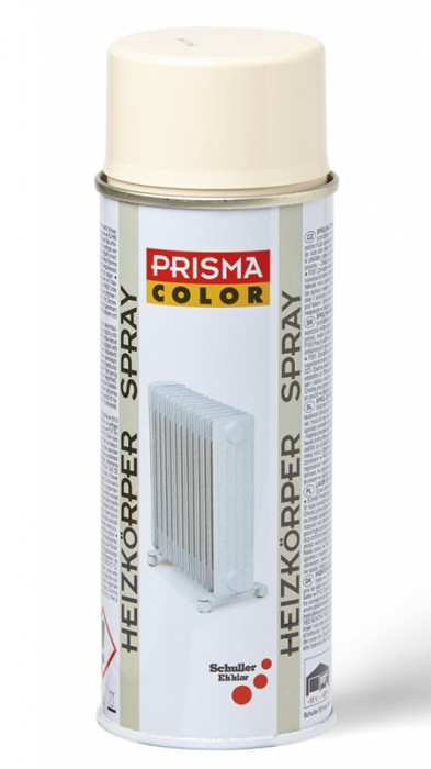 Schuller Ehklar PRISMA COLOR 91151 Sprej krémově bílý na topná tělesa a radiátory RAL 9001 400 ml
